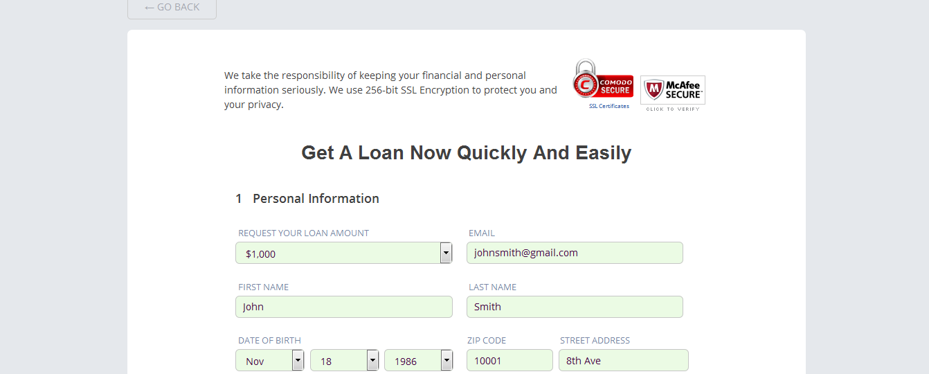 hoow to apply for an online loan