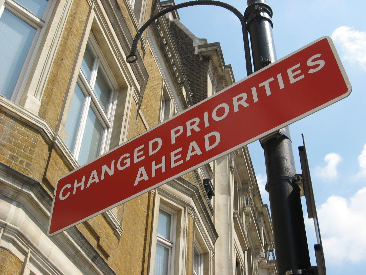 set financial priorities