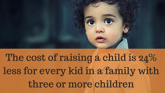 More Children, Less Expenses